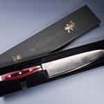 Japanische Messer aus Damaszenerstahl